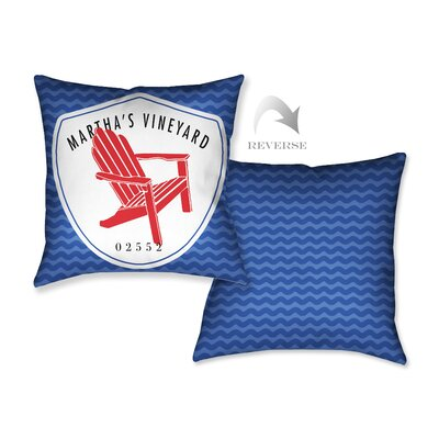 Marthas Vineyard I Throw Pillow