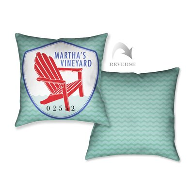 Marthas Vineyard II Throw Pillow
