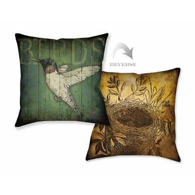 Lodge Bird Throw Pillow