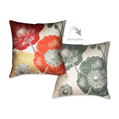 A Poppys Touch II Throw Pillow