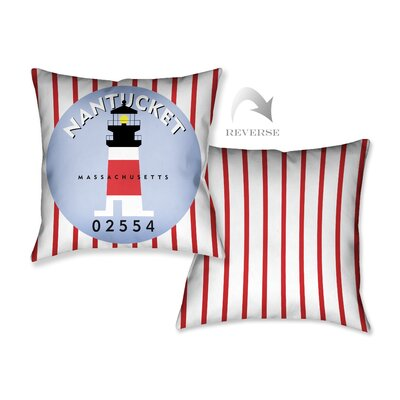 Nantucket I Throw Pillow
