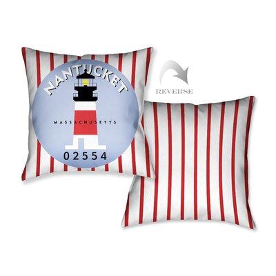 Nantucket I Throw Pillow