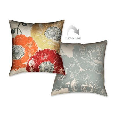 A Poppys Touch III Throw Pillow