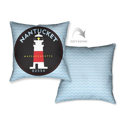Nantucket II Throw Pillow