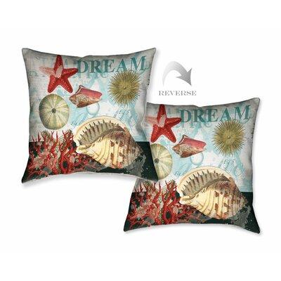 Dream Shells Throw Pillow