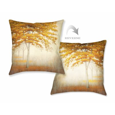 Autumn Trees I Throw Pillow