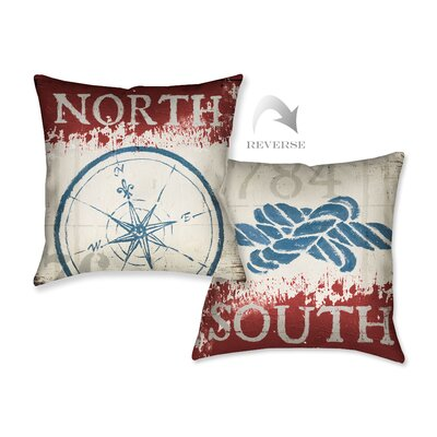 Nautical I  Throw Pillow