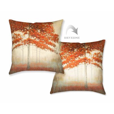 Autumn Trees II Throw Pillow