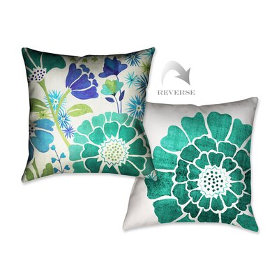 Garden I Throw Pillow