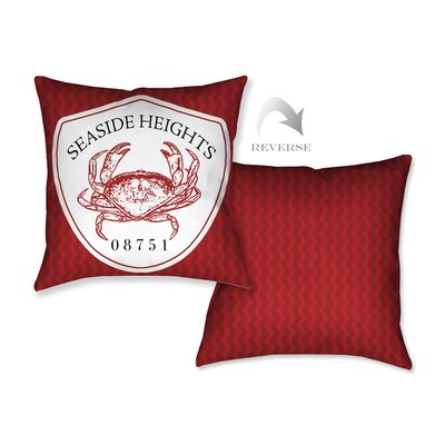 Seaside Heights II Throw Pillow