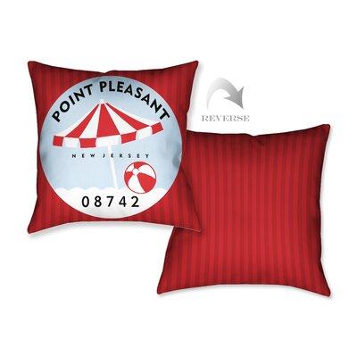 Point Pleasant I Throw Pillow