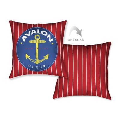 Avalon I Throw Pillow