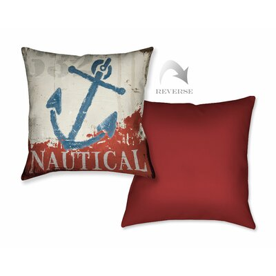 Nautical IV Throw Pillow
