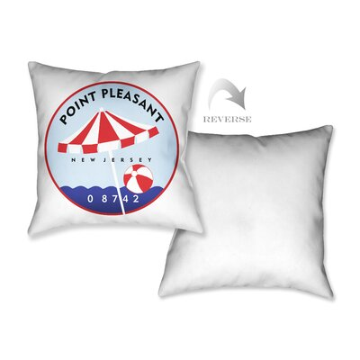 Point Pleasant II Throw Pillow