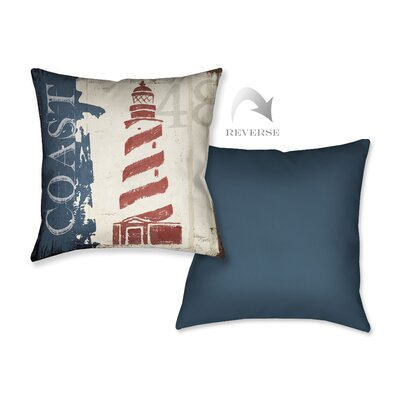 Nautical V Throw Pillow