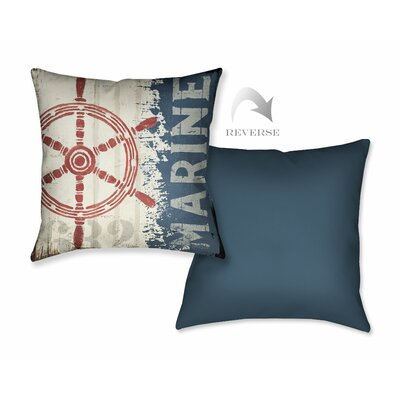 Nautical VI Throw Pillow