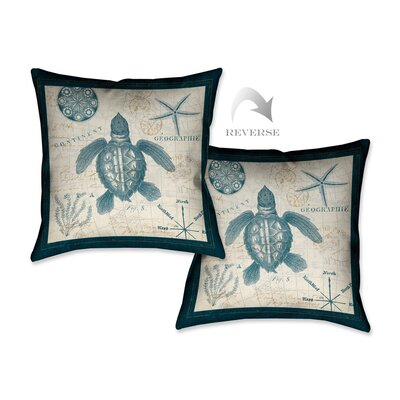 Ocean Life VI Throw Pillow