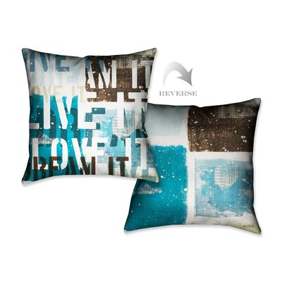 Live the Dream I Throw Pillow