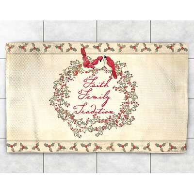 Faith Family Tradition Area Rug