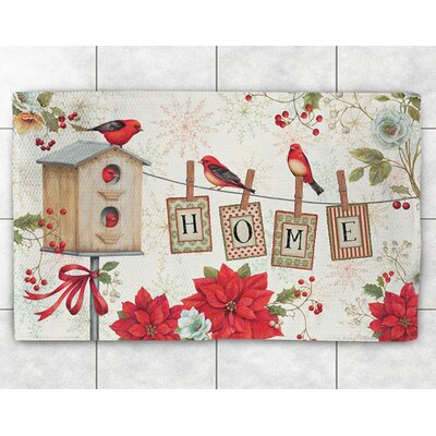 Holiday Wings Area Rug