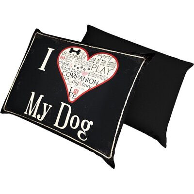 I love My Dog Dog Bed Size: Small/Medium 28 L x 18 W