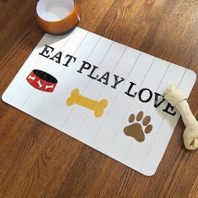 Eat Play Love Rug Pad