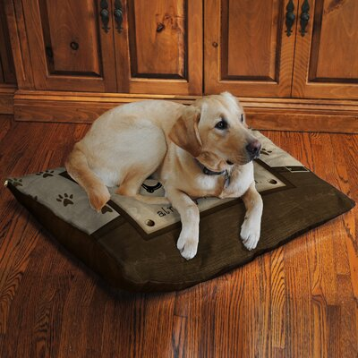 Dogs Opinion Fleece Dog Bed