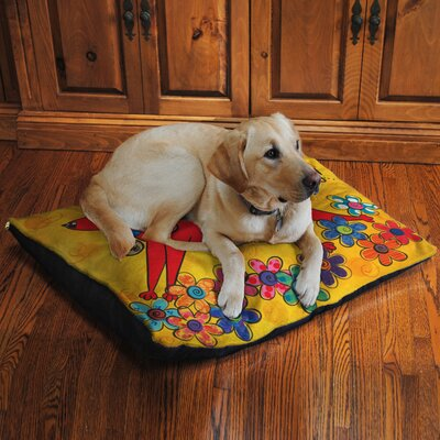 Happy Dog Fleece Dog Bed