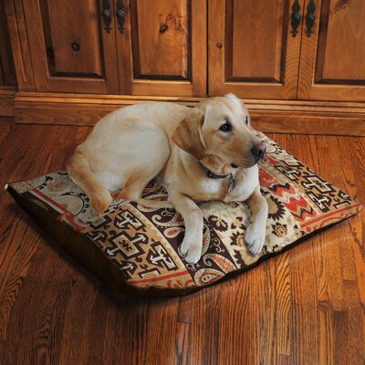 Southwest Story Fleece Dog Bed