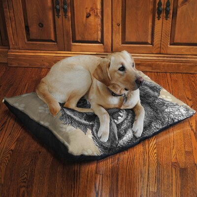 Golden Retriever Fleece Dog Bed