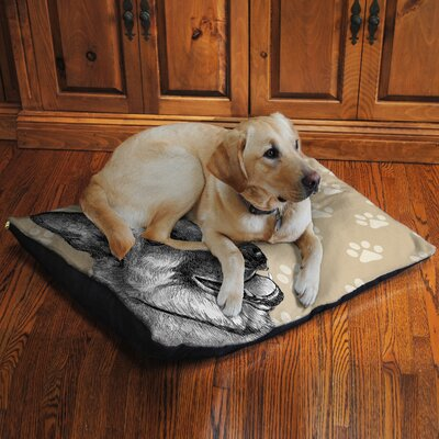 German Shepherd Fleece Dog Bed