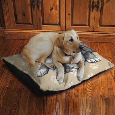 Bulldog Fleece Dog Bed