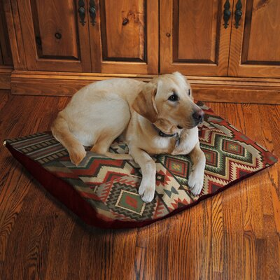 Country Mood Fleece Dog Bed