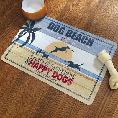 Dog Beach Rug Pad