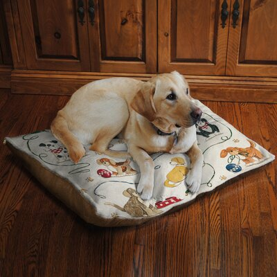 Dogs at Play Fleece Dog Bed