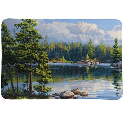 Blue Water Bay Mat