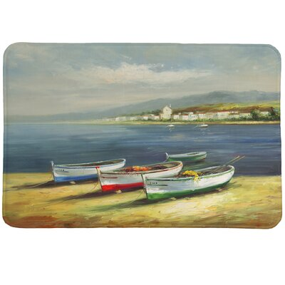 Boats on the Beach Mat