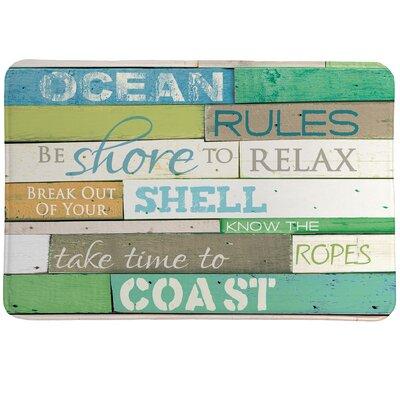 Ocean Rules Mat