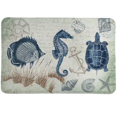 Seaside Postcard Mat