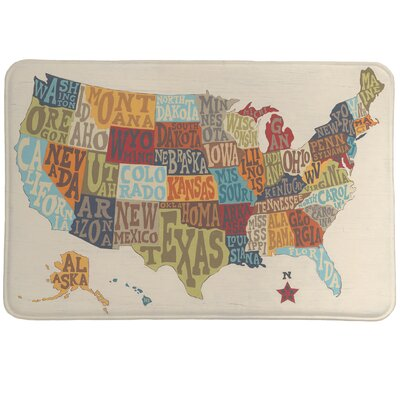 States Collage Mat