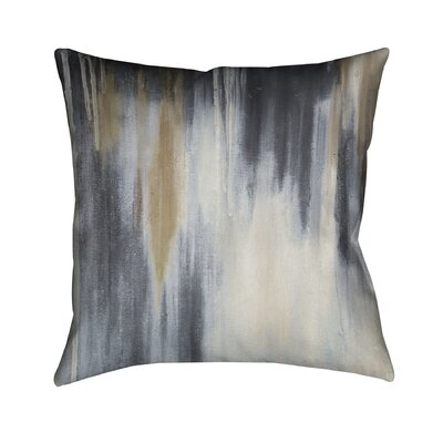 Blue and Brown Paysage Throw Pillow