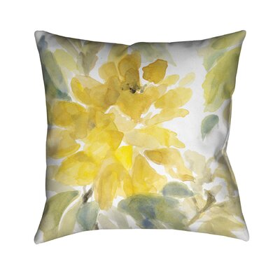 Early May Blooms Throw Pillow