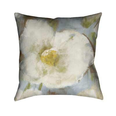 Soft Petals Throw Pillow