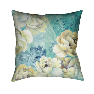 Floral Chic Throw Pillow