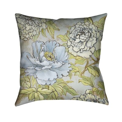 Peony Fascination Throw Pillow