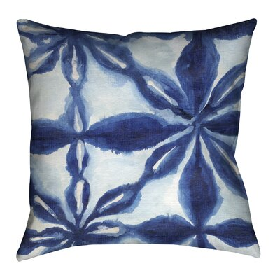 Shibori Outdoor Throw Pillow
