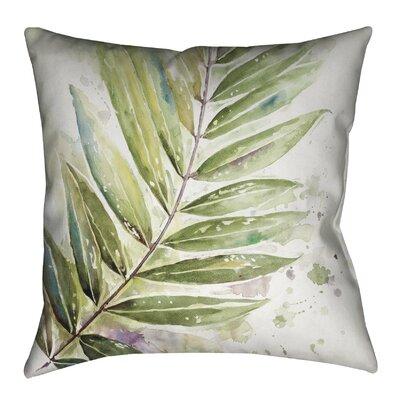 Watercolor Jungle Outdoor Throw Pillow