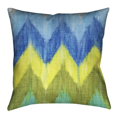 Brilliant Chevron Outdoor Throw Pillow