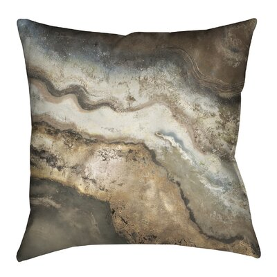 Lava Flow Outdoor Throw Pillow