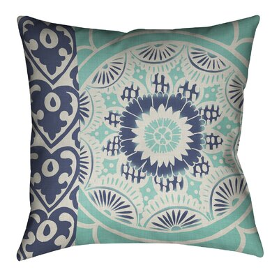 Batik II Outdoor Throw Pillow